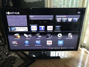"46"" SAMSUNG SMART TV $150"