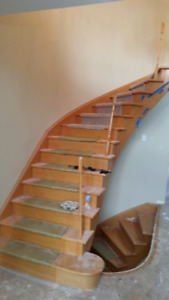 Stairs and Railings Custom Built or Renovations, Refinishing