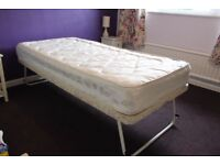 3' folding guest bed with mattress