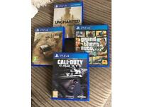 PS4 games for sale. (Bundle)
