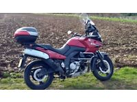 Suzuki V Strom 650, very low miles