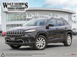 2016 JEEP CHEROKEE LIMITED: ACCIDENT FREE, LOW KILOMETERS