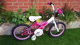 girls pink bike 16 inch wheel