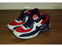 NIKE Air Max Trainers; UK Mens Size 8.5; Condition: Used-Good
