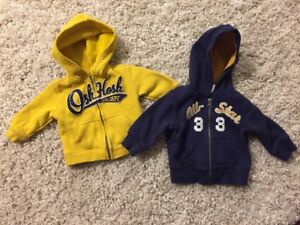 Baby Boy OshKosh sweater and Carters sweater (6 months)