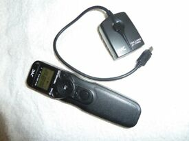 JYC wireless remote and time lapsed unit