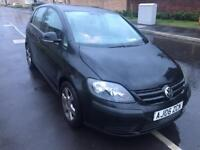 2006 06reg Volkswagen Golf Plus 1.4 SE Black