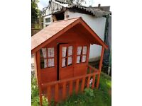 Toys R us Chidren wooden outdoor playhouse