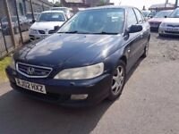 2002 HONDA ACCORD 2.3 TYPE V..AUTOMATIC..FULL LEATHERS...