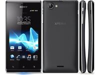 Sony Xperia J unlocked open to all networks ***good condition***cheap smart phone***