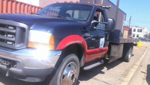 tow truck flatbed F-550