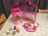 Peppa Pig Once upon a time castle bundle