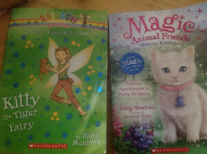 ISO Magic Animal Friends and Rainbow Magic books