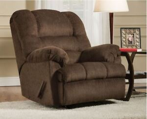 Brand NEW Mocha Rocker Recliner! Call 807-346-4044