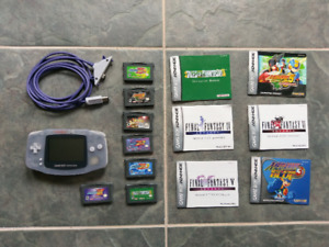 Gameboy Advance games and GBA w/ Gamecube Cable