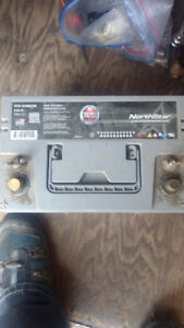 Car stereo equipment and battery