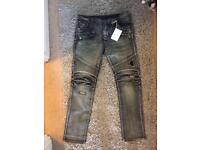 Balmain jeans current season size 36