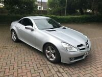 Mercedes-Benz SLK 1.8 SLK 200 AUTOMATIC CONVERTIBLE 2008 In Silver