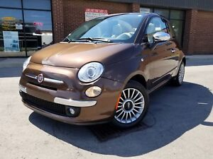 2012 FIAT 500 LOUNGE  SOFT TOP CONVERTIBLE 48K ONLY!!!