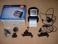 Garmin Zumo 550 Motor bike SatNav with Motorbike and In car mounts, all cables and carrying pouch