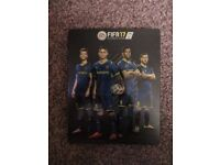 FIFA 17 ultimate team steelbook for PS4 and XBOX one - no game disc