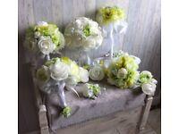 Wedding flowers set 12 pcs