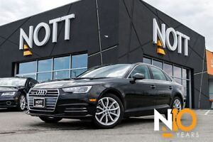 2017 Audi A4 2.0T Progressiv, AWD, Nav, Moonroof