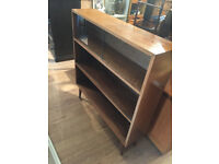 Retro Bookcase with 3 shleves - Free Local Delivery.