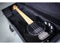 Musicman Sterling Bass Guitar Sub Ray4 with case