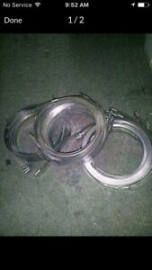 New Stainless steel Post Centre Punch Clamps!