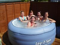 Hot tube hire