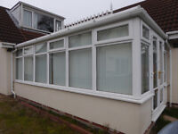 Conservatory roof canopy, sides and door