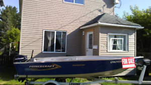 2012 Princecraft Yukon 14ft aluminum