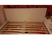 IKEA White Bed Frame 160cm 200cm