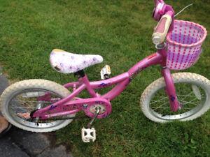 "Girls 12"" Raleigh Bike"
