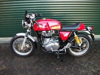 Royal Enfield Continental GT 535 cc motor cycle, extras, one of the cheapest on sale