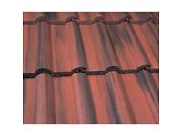 100 Marley double roman roof tiles