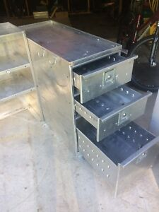Stainless drawers and shelves  275$