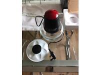Russell Hobbs Desire Mini Chopper 1 L Bowl with 500 ml Food Capacity, 380 W 18558 - Black