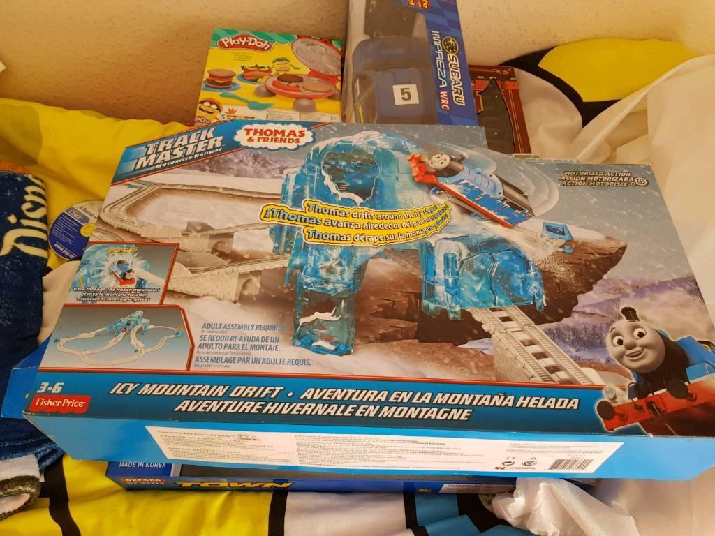 RARE! Thomas trackmaster icy mountain drift brand new
