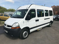 2008 RENAULT MASTER 100 3.5 TON MINIBUS WHEEL CHAIR ACCESABLE DIRECT NHS