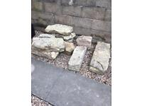 Large Rustic Rockery, varied sizes,