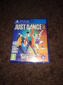 Brand New PS4 Just Dance Game