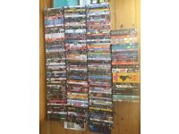 265 dvds for sale - box set, stand up, kids children, action blue ray bulk car boot collection