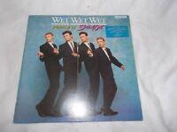 Vinyl LP Popped In Souled Out – Wet ,Wet, Wet Chrysalis JWWWL 1 Stereo 1987