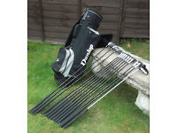 Full Set of Dunlop Clubs, and Trolley bag