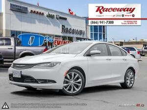 2016 Chrysler 200 S   HEATED STEERING & FRONT SEATS   5' TOUCHSC