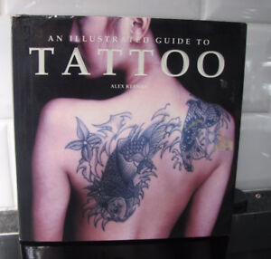 An Illustrated Guide to TATTOO - hard cover - Alex Keenan