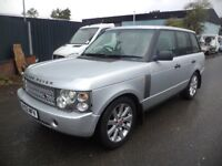 2002 Land Rover Range Rover 3.0 Td6 HSE 4d Auto in Silver colour. Mileage is 249K with 2 Months MOT