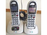 BT Phones BT 4000 Twin Phone
